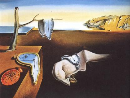 The Persistence Of Memory 1931 Salvador Dali